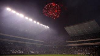 El Estadio Cuauhtémoc durante el  juego entre Puebla y Boca Jrs.