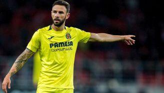 Miguel Layún, durante un juego con el Villarreal