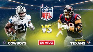 EN VIVO Y EN DIRECTO: Dallas Cowboys vs Houston Texans