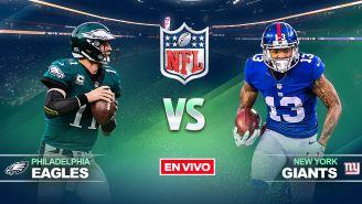 EN VIVO y EN DIRECTO: Eagles vs Giants
