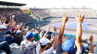 Los fans de una carrera de la Fórmula E