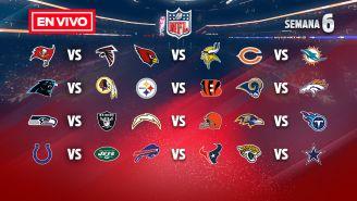 EN VIVO Y EN DIRECTO: NFL Semana 6 domingo
