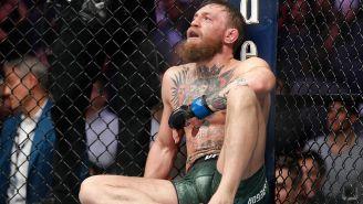 McGregor, luego de caer derrotado contra Khabib Nurmagomedov