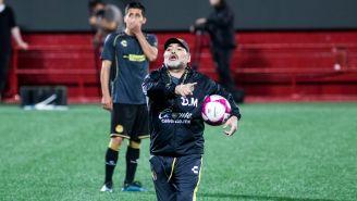 Maradona dirige a Dorados previo al duelo vs Xolos