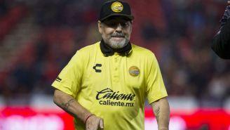 Maradona previo al duelo ante Xolos