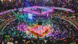 Vista aérea del Palenque de la Feria de Aguascalientes