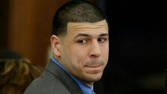 Aaron Hernández, durante su juicio
