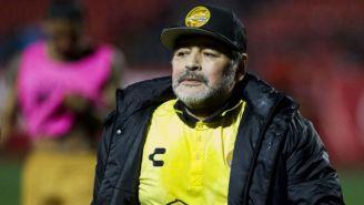 Maradona en partido con Dorados