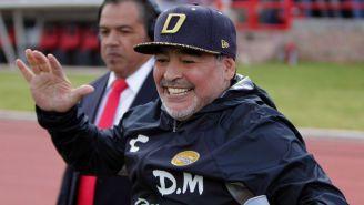 Maradona, tras el duelo frente a Mineros