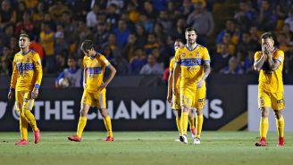 Tigres, durante el torneo de Liga de Campeones de Concacaf