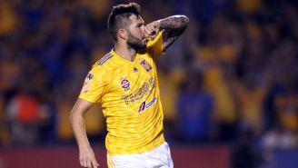 André-Pierre Gignac celebra gol con Tigres