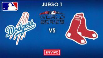 EN VIVO y EN DIRECTO: Dodgers vs Red Sox