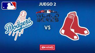 EN VIVO: Dodgers vs Red Sox Juego 2