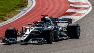 Lewis Hamilton en GP de Estados Unidos
