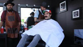 Sergio Pérez participa en el movimiento 'Movember Foundation'