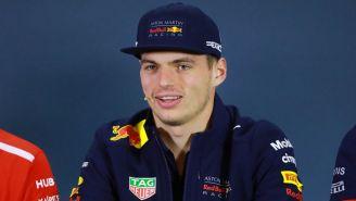 Max Verstappen, en conferencia de prensa