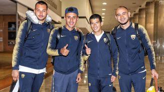 Jugadores de Pumas, optimistas previo a viaje a Tijuana