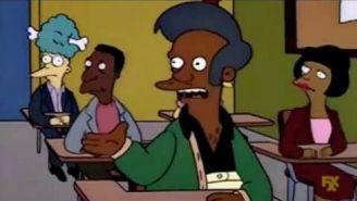 Apu durante una escena de Los Simpson