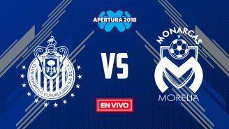 EN VIVO Y EN DIRECTO: Chivas vs Morelia