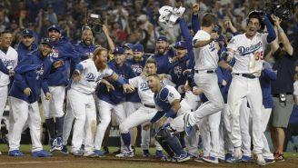 Los Dodgers festejan su triunfo