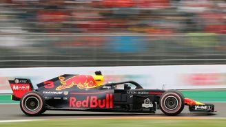 Ricciardo durante la pole position