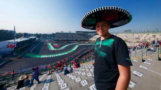 Afición presente en el Autódromo Hermanos Rodríguez