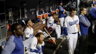 Dodgers, en lamento durante el encuentro ante Boston Red Sox