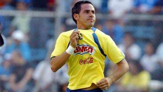 Aarón Padilla, durante un encuentro contra Cruz Azul