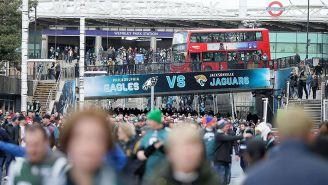 Aficionados de la NFL en Londres