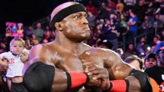 Bobby Lashley previo a su combate con Finn Bálor