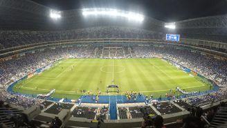 Panorámica del BBVA Bancomer antes de la Final de Copa MX