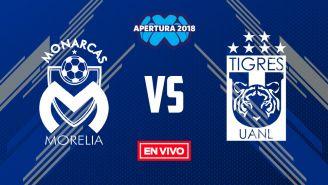 EN VIVO Y EN DIRECTO: Morelia vs Tigres
