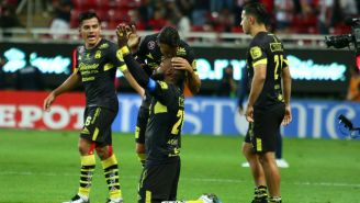 Monarcas, celebra victoria frente a Chivas
