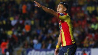 Carlos Ferreira en duelo de Morelia contra Tigres