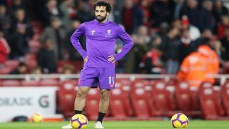 Mohamed Salah, previo a un duelo con el Liverpool