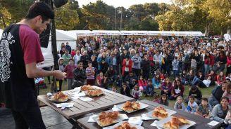 La 'Fiesta de la medialuna' se realizó en Pinamar