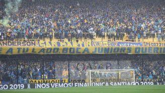 Afición de Boca Juniors en el estadio