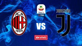 EN VIVO Y EN DIRECTO: Milan vs Juventus