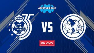 EN VIVO Y EN DIRECTO: Santos vs América