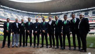 Brizio y personal de FIFA, presentes en el Estadio Azteca