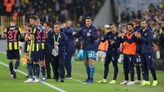 Fenerbahçe celebra victoria frente al Alanyaspor