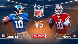 EN VIVO y EN DIRECTO: Giants vs 49ers