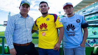Aficionados de Santos y América, previo al duelo en el TSM Corona