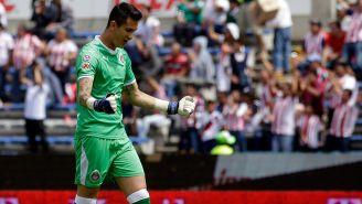 Gudiño ha sido de lo poco rescatable de Chivas en el Apertura 2018