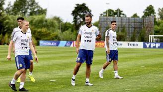 Selección de Argentina en entrenamiento