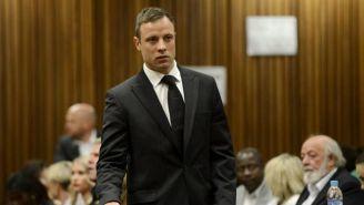 Pistorius durante su juicio