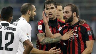 Gonzalo Higuaín explota tras ser expulsado en juego contra Juve