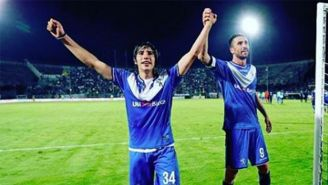 Sandro Tonali celebra un triunfo del Brescia