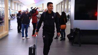 Cecilio Domínguez previo a su viaje para jugar con Paraguay