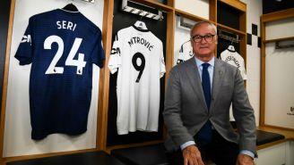 Ranieri en el vestidor del Fulham